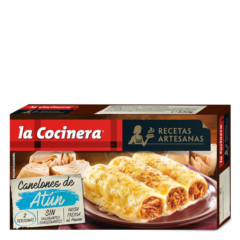 Canelones de atún La Cocinera 530 g.