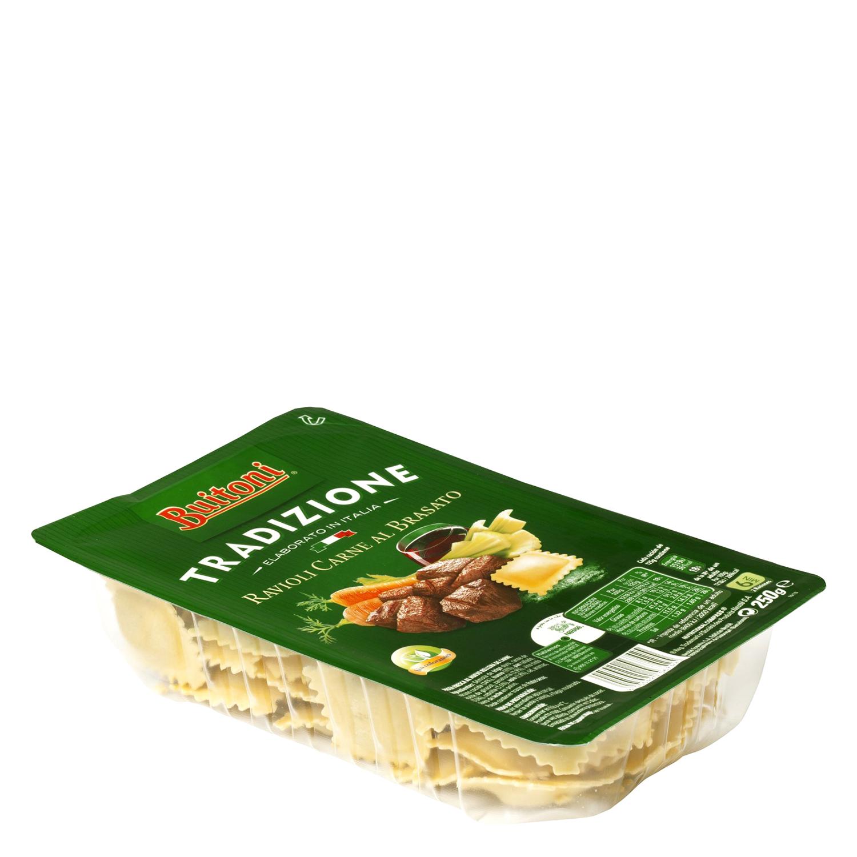 Ravioli de carne al brasato Buitoni al huevo 250 g. -