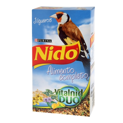 Comida para Jilguero Purina Nido Menú Completo 400 gr
