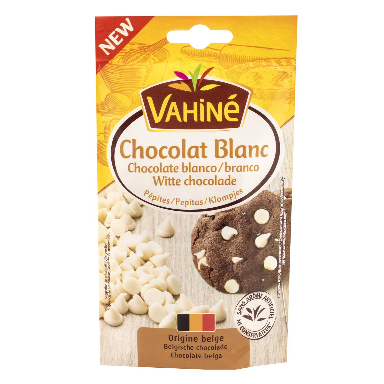 Pepitas de chocolate blanco
