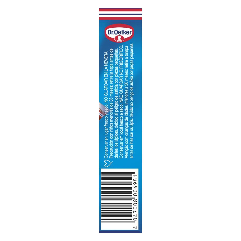 Lápices pasteleros sabor chocolate Dr. Oetker 76 g. - 3