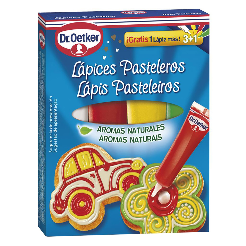 Lápices pasteleros de aromas naturales