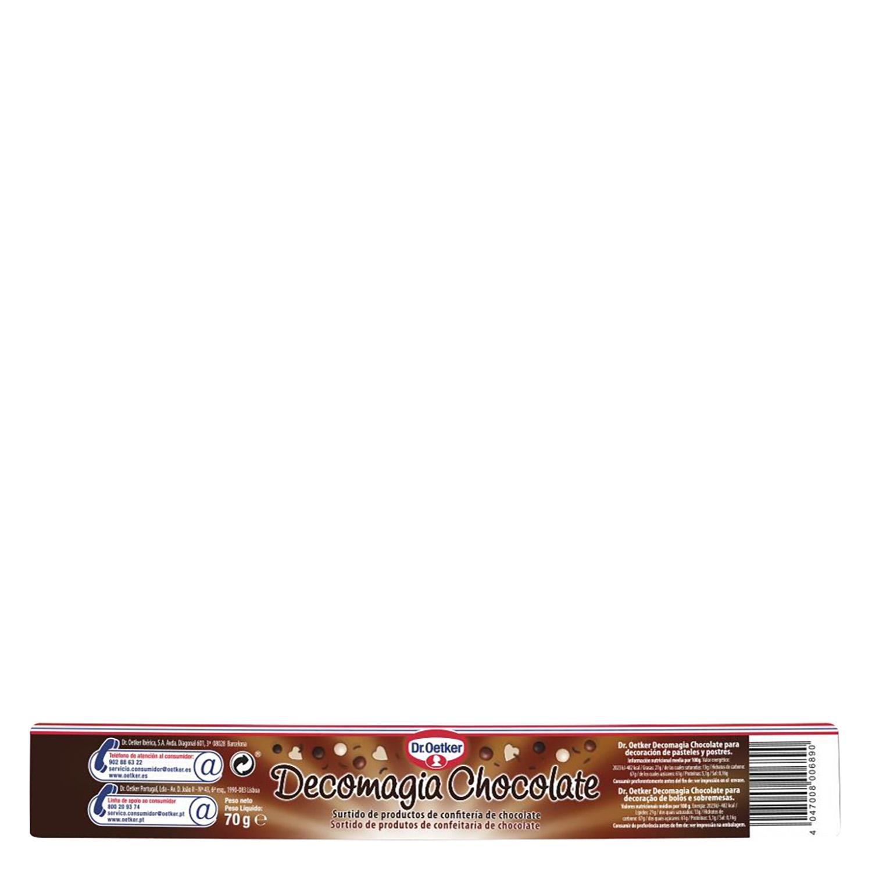Decomagia de chocolate -