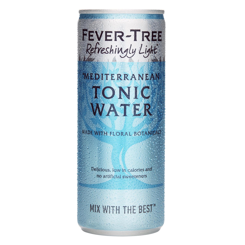 Tónica Fever Tree Mediterranen ligt lata 25 cl.