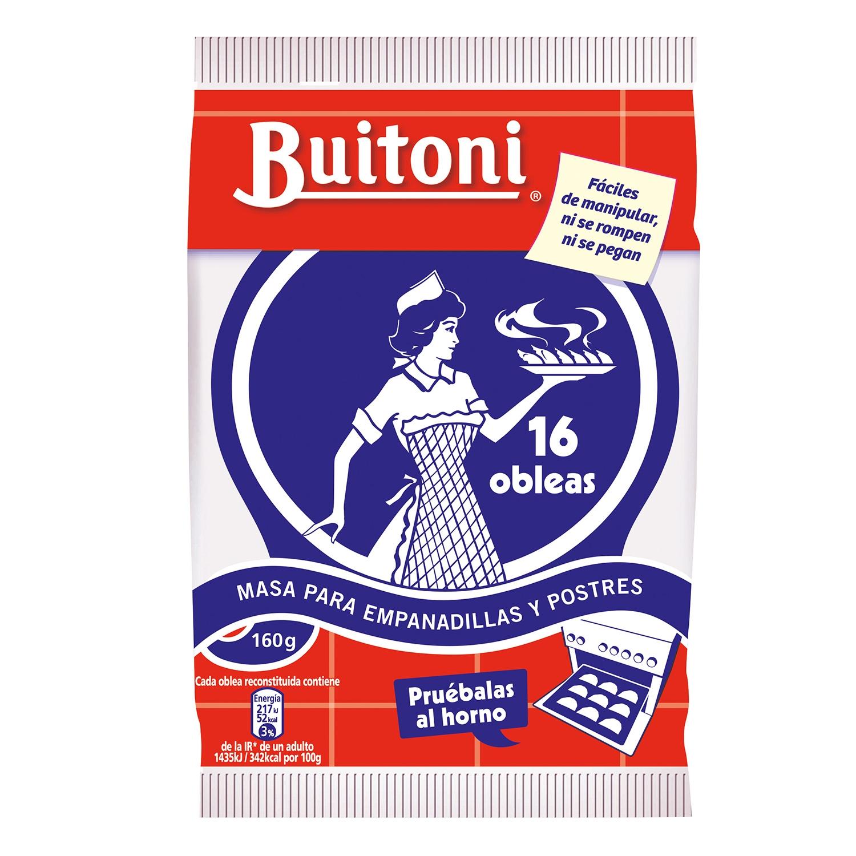 Masa para empanadillas y postres Buitoni 160 g.