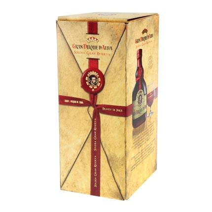 Brandy Gran Duque D Alba solera Gran Reserva 70 cl.
