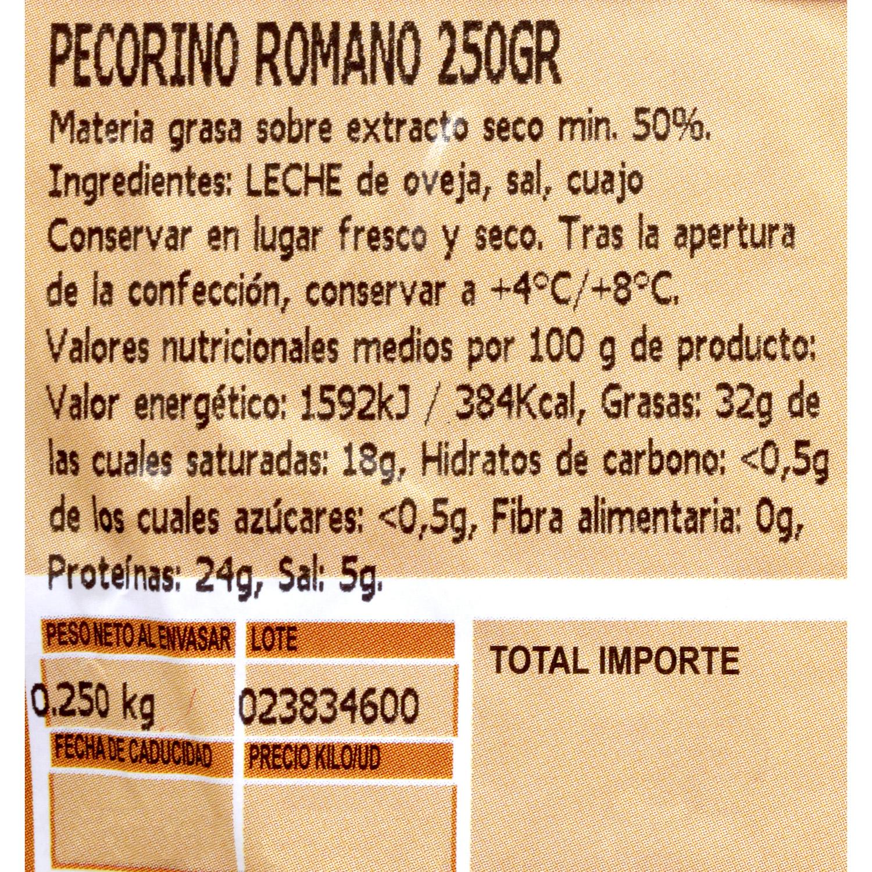 Queso pecorino romano D.O.P. Auricchio Cuña 250 g - 3