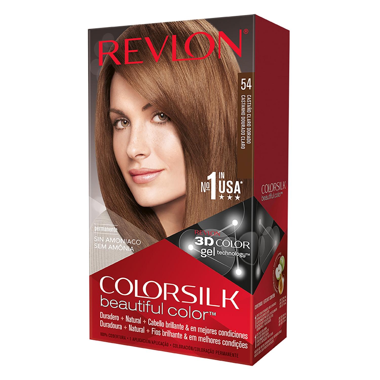 Tinte Colorsilk nº 54 Castaño Claro Dorado Revlon - Carrefour ...