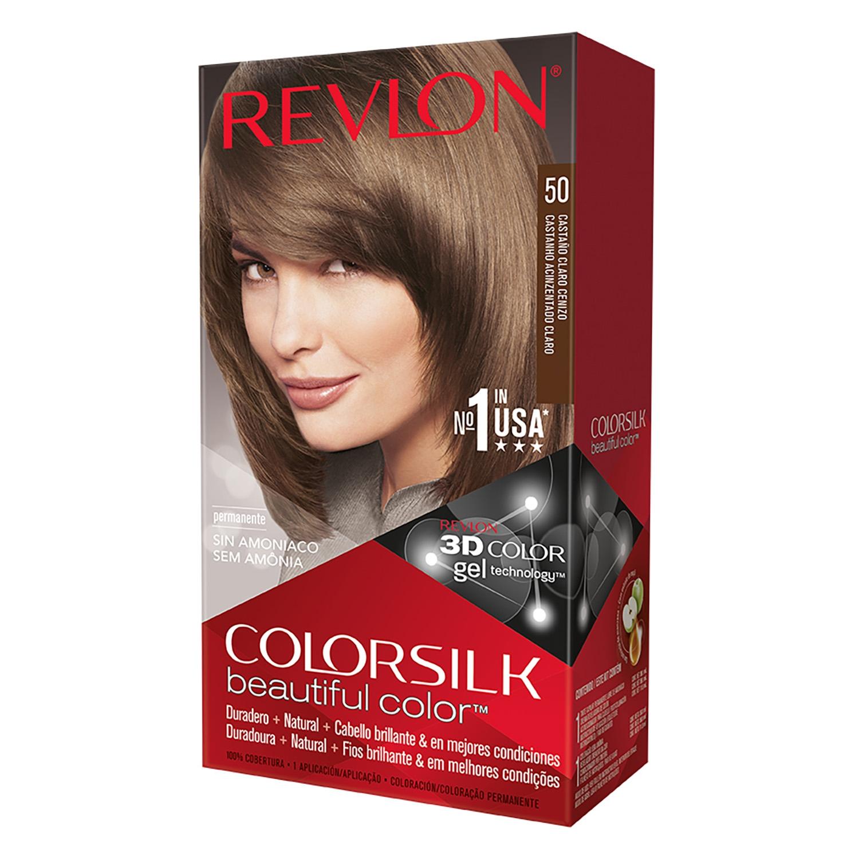Tinte Colorsilk N 186 50 Casta 241 O Claro Cenizo Revlon