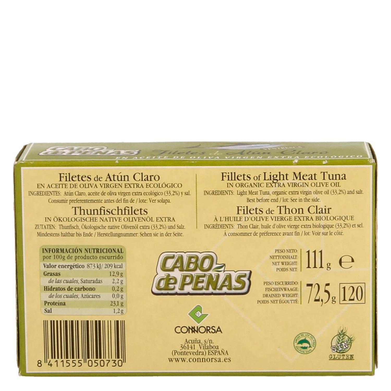 Ventresca de atún claro en aceite de oliva ecológica - 2