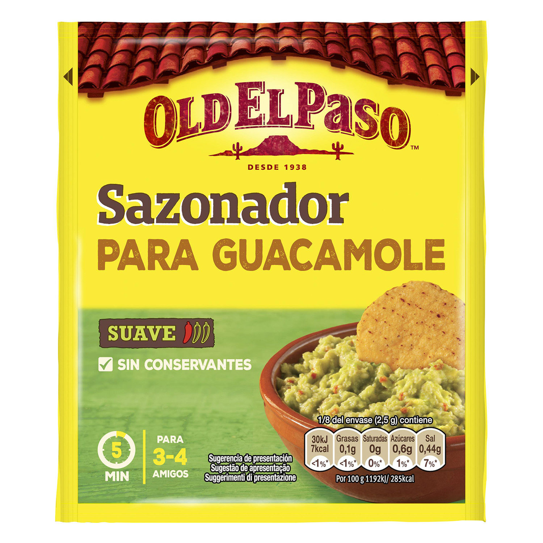 Guacamole Sazonador Mix