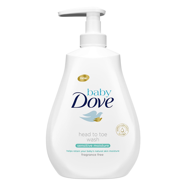 Gel sensitive Baby Dove 400 ml.