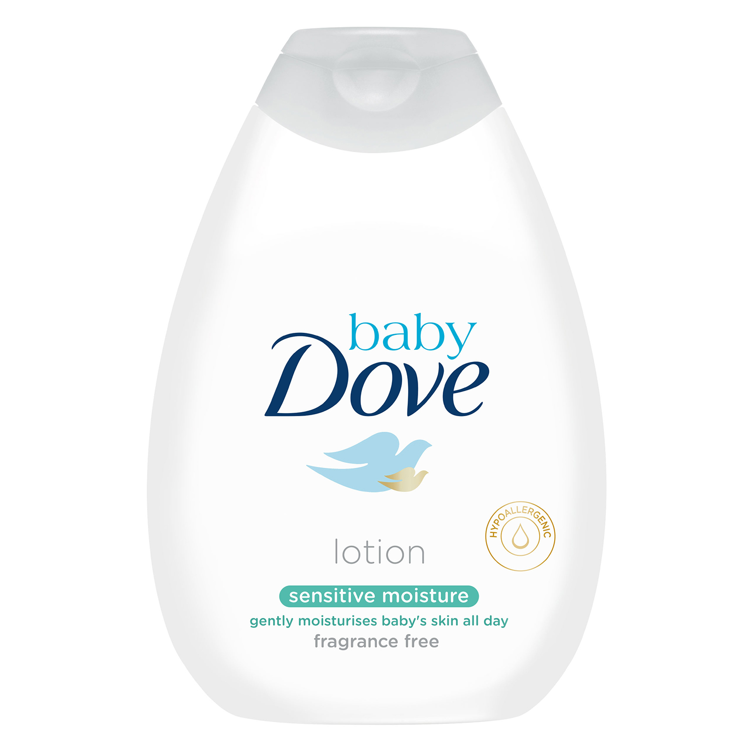 Loción sensitive Baby Dove 400 ml.