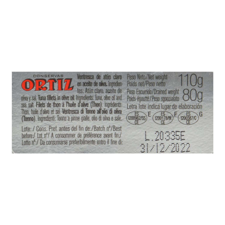 Ventresca de atún en aceite de oliva - 2