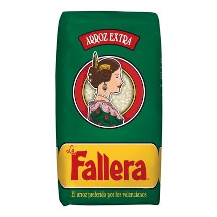 Arroz La Fallera categoría extra 1 kg.