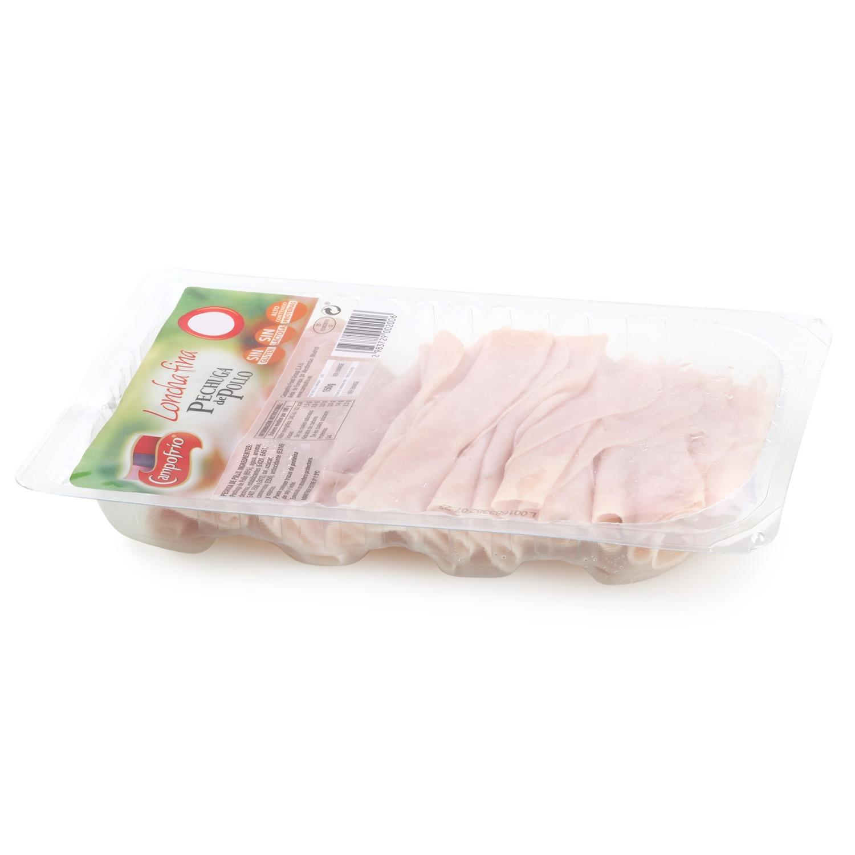 Pechuga de pollo loncha fina Campofrío envase 150 g