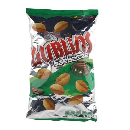 Aperitivo de maíz sabor barbacoa Grefusa Gublins 120 g.