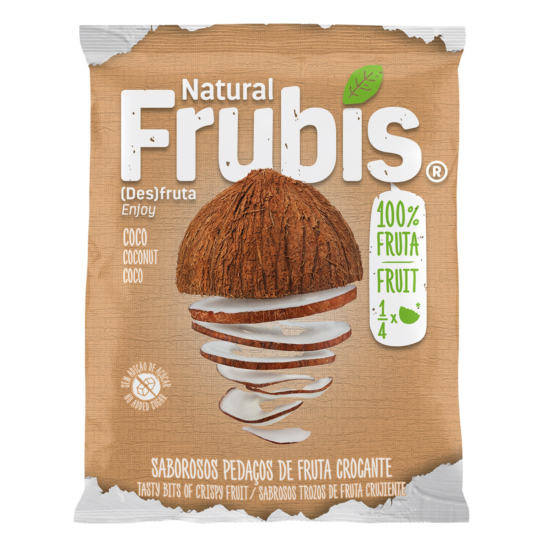 Coco natural Frubís 20 g.