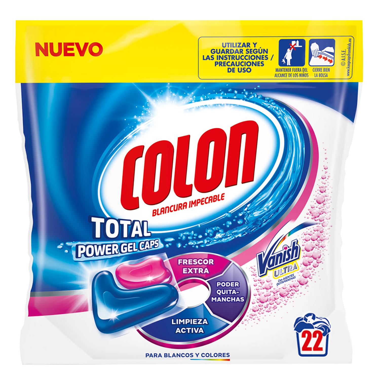 Detergente  Colon total power gel