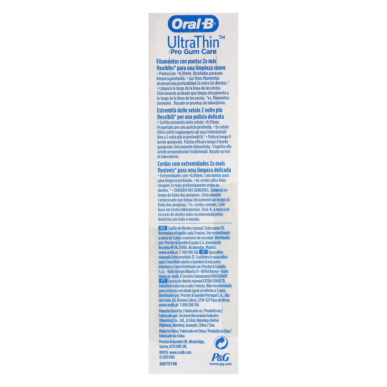 Cepillo dental UltraThin -