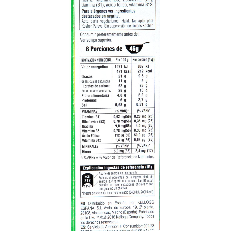 Cereales de fruta Extra Kellogg's 375 g. -