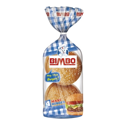 Pan hamburguesa Maxi Burguer