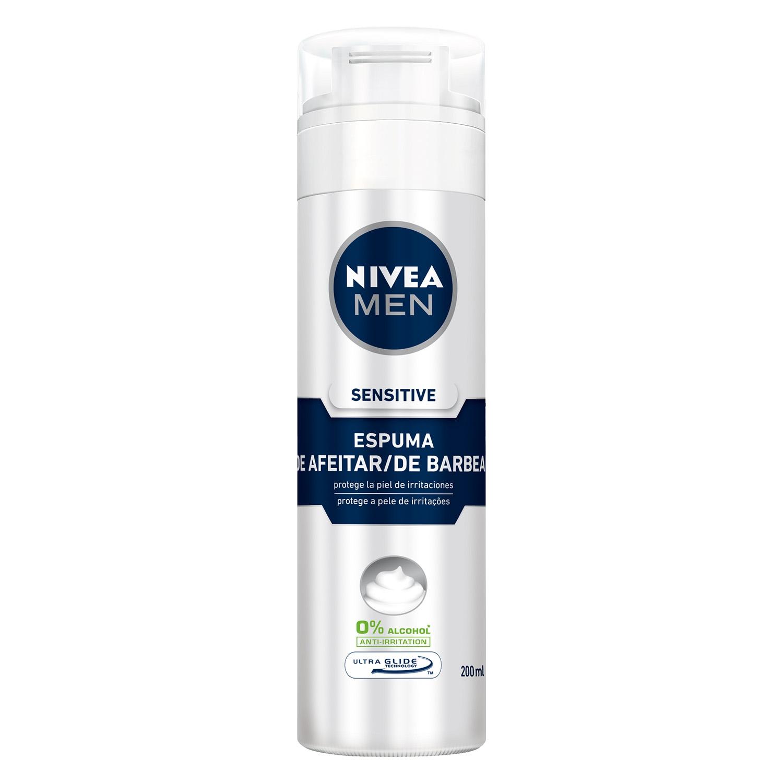 67eb9dbd5 Espuma de Afeitar Sensitive Nivea Men 200 ml. Nivea Men - Carrefour ...