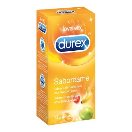 Preservativos Saboréame Durex 12 ud.