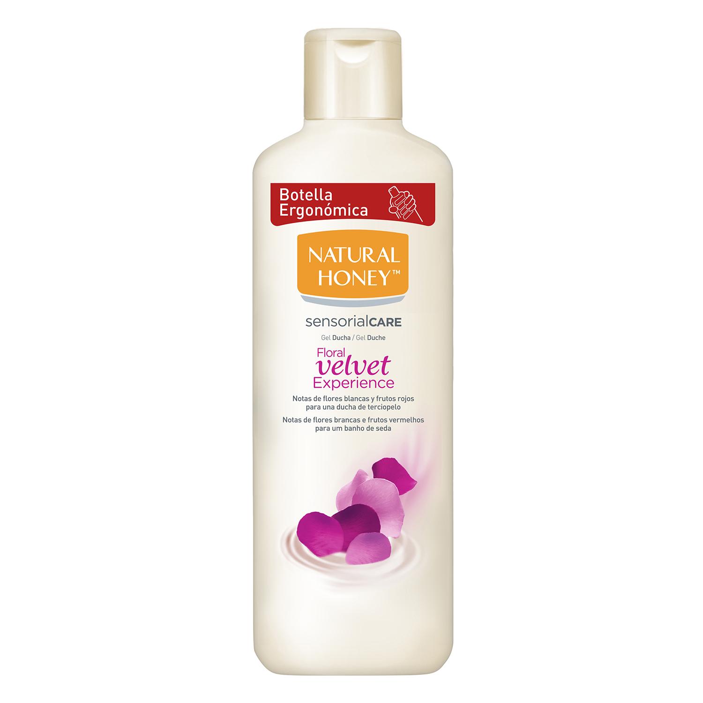 Gel de baño y ducha Foral Velvet Natural Honey 650 ml.