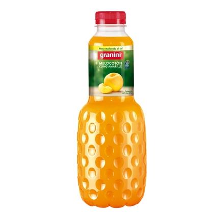 Zumo de melocotón Granini botella 1 l.