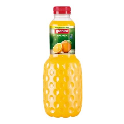 Néctar de naranja Granini botella 1 l.