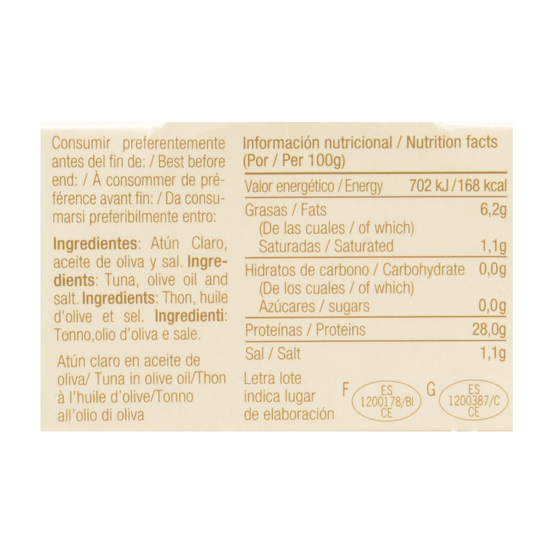 Atún claro aceite de oliva - 2