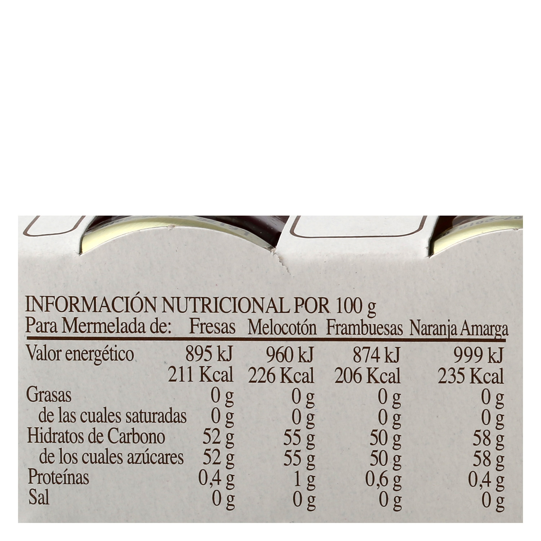 Surtido de mermeladas La Vieja Fábrica 112 g. -