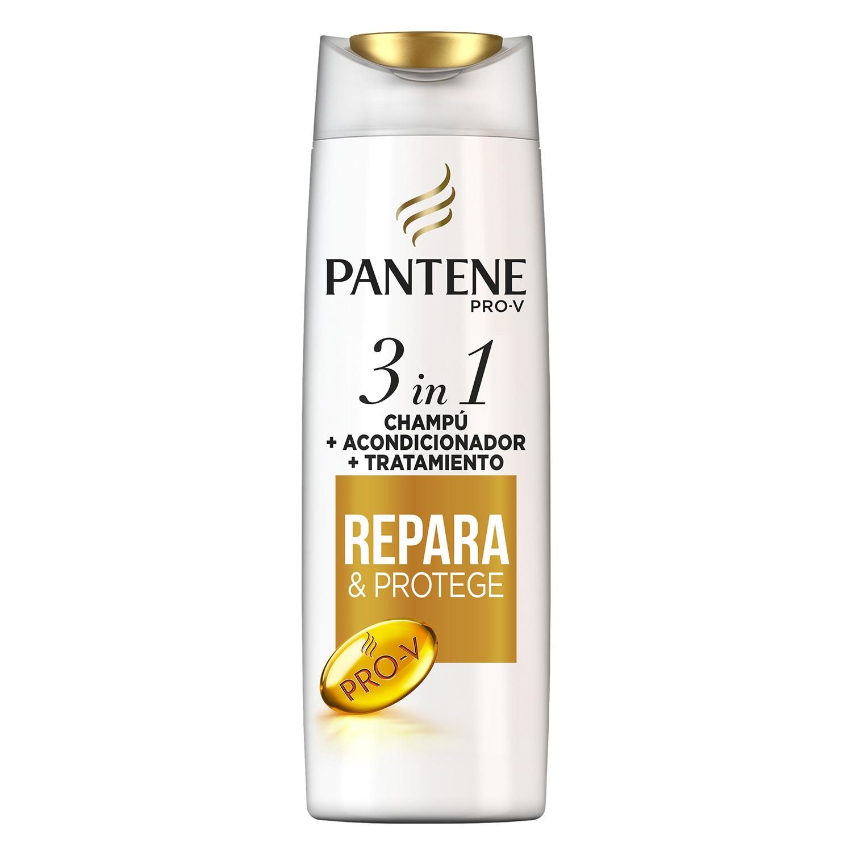Champú Repara & proteje 3 en 1 Pantene 300 ml.