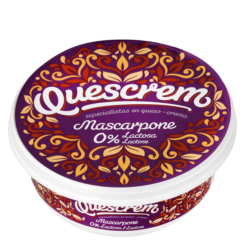 Queso mascarpone sin lactosa