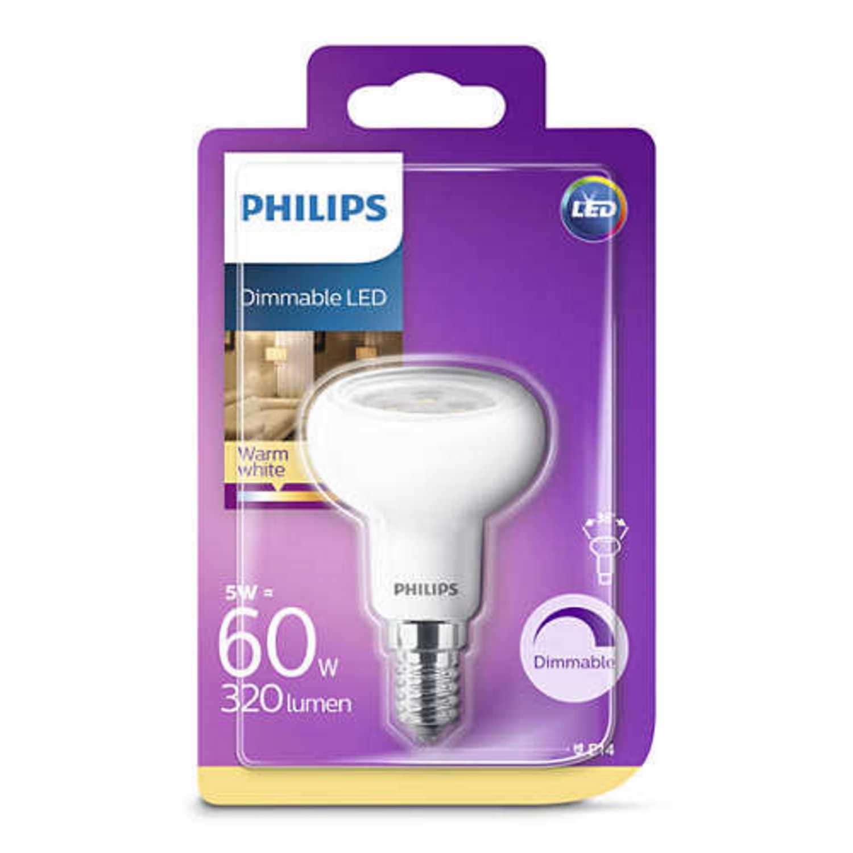 Bombilla Philips LED 60W casquillo E14