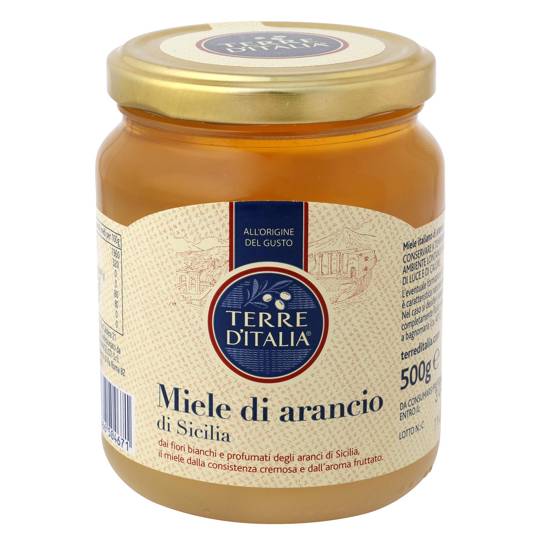 Miel de azahar Terre d'Italia 500 g.