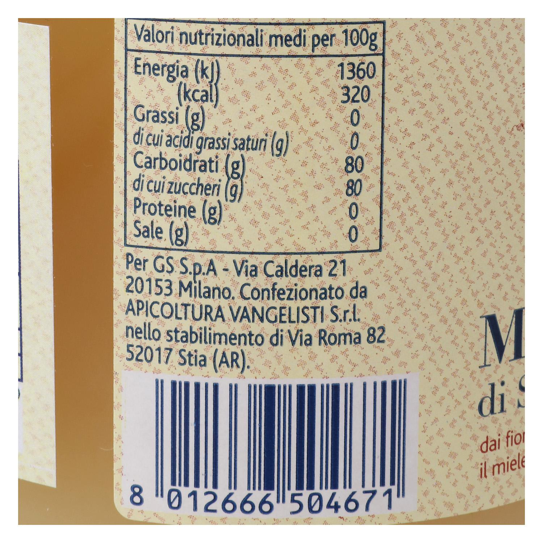 Miel de azahar Terre d'Italia 500 g. -