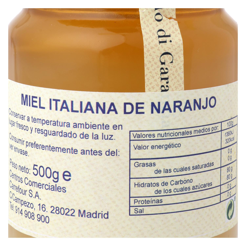 Miel de azahar Terre d'Italia 500 g. - 2