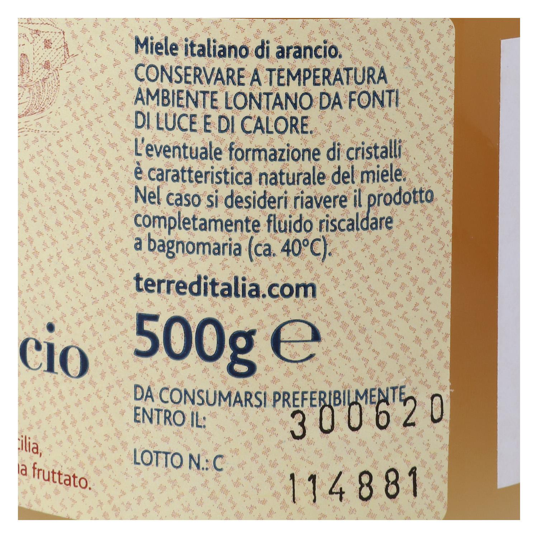 Miel de azahar Terre d'Italia 500 g. - 3