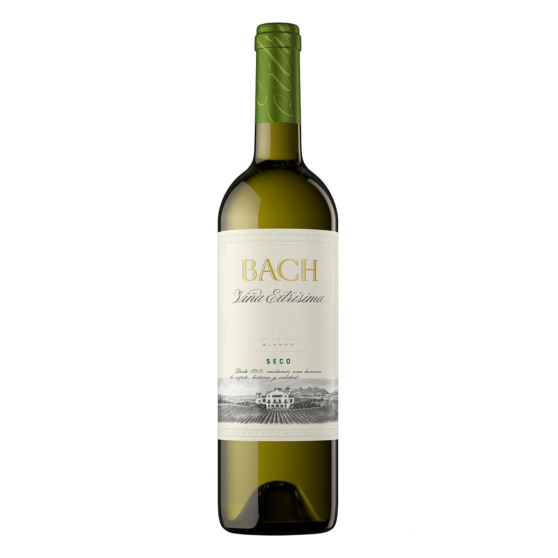Vino D.O. Cataluña blanco seco Bach 75 cl.