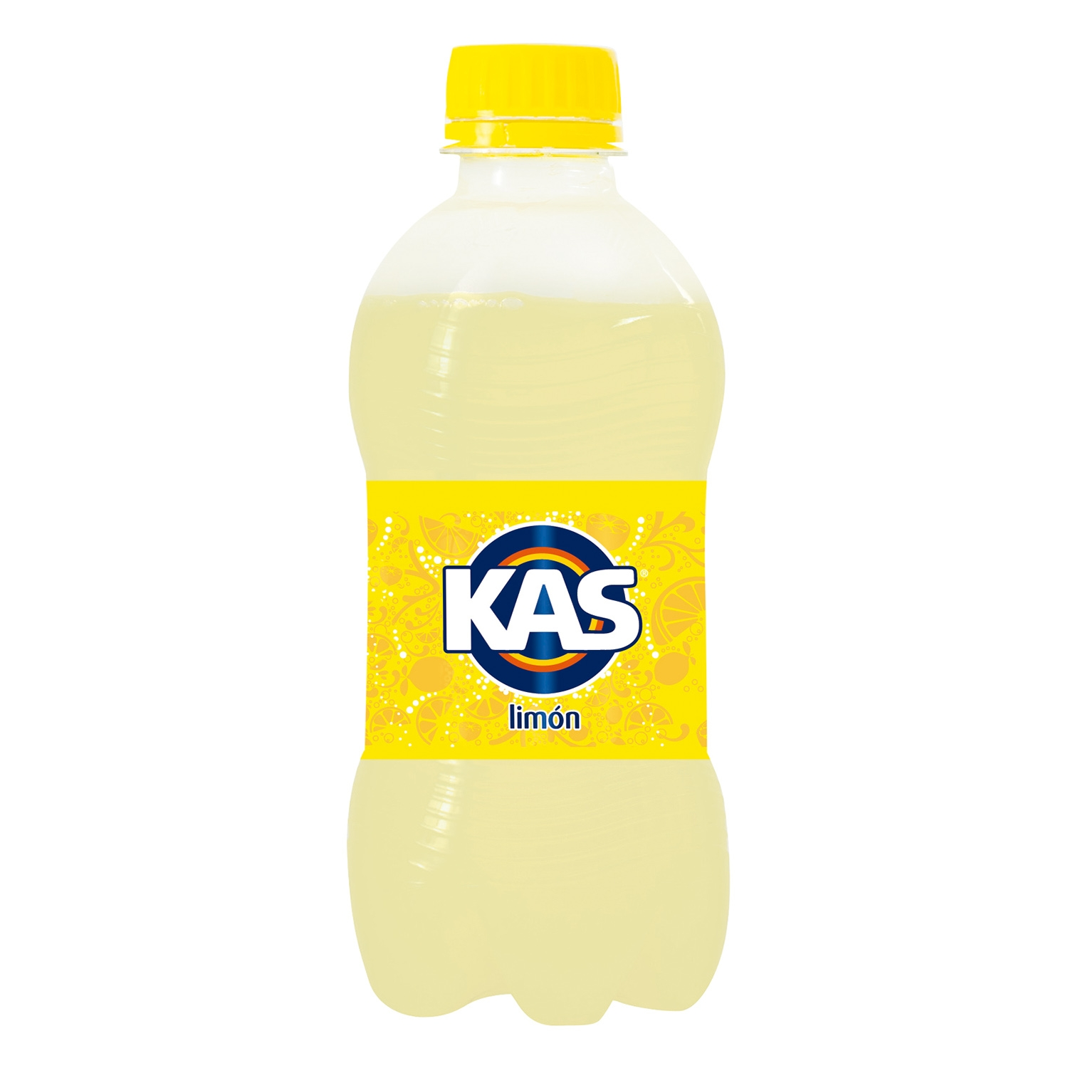 Refresco de limón Kas con gas botella 33 cl.
