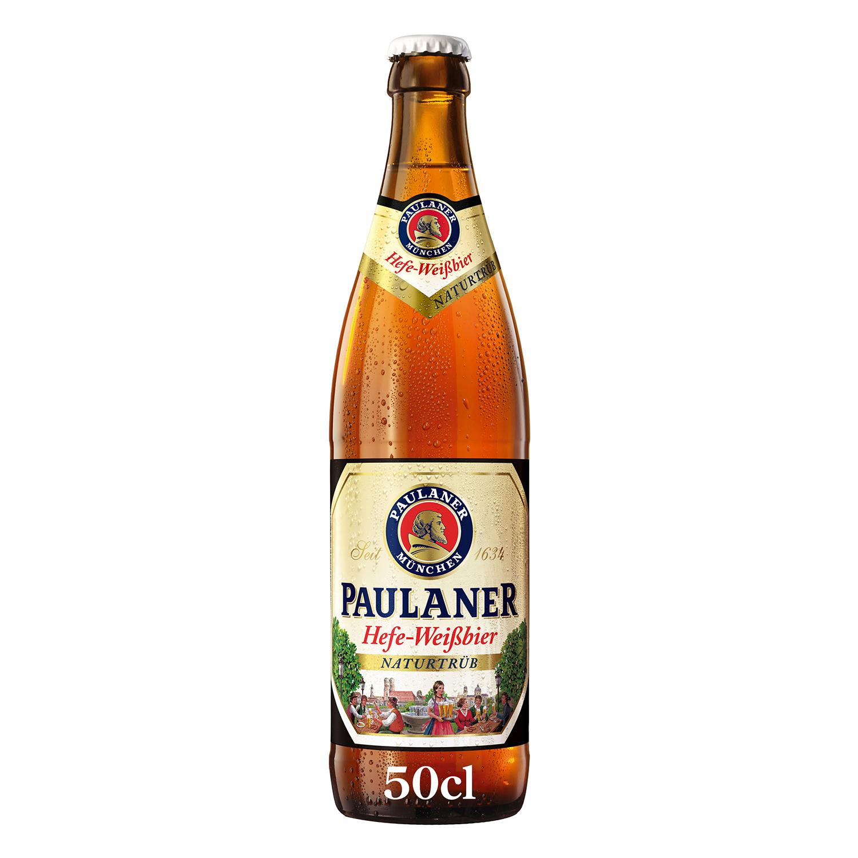 Cerveza Paulaner Naturtrüb botella 50 cl.
