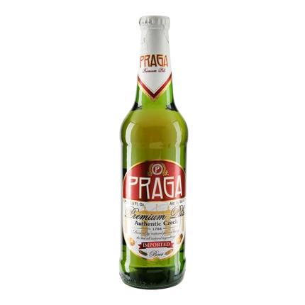 Cerveza Praga botella 50 cl.