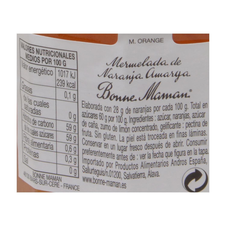Mermelada de naranja amarga Bonne Maman 370 g. - 2