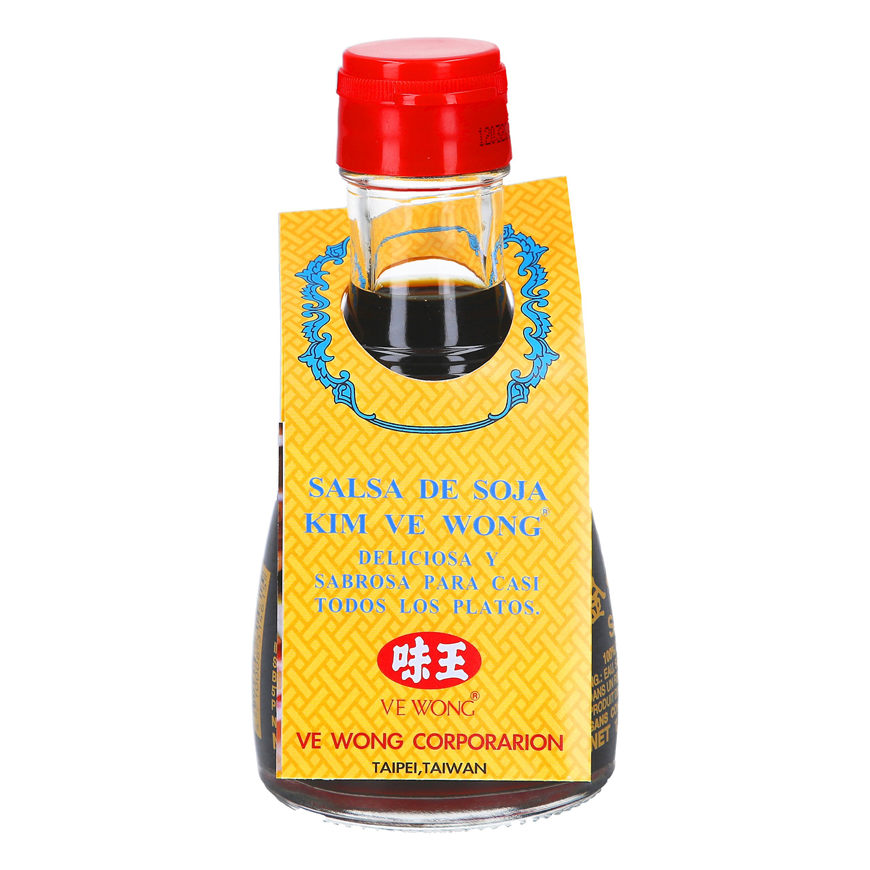 Salsa de soja Kim Ve Wong botella 160 g.
