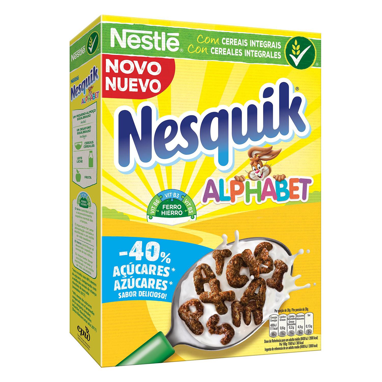 Cereales integrales ABC Nesquik Nestlé 325 g.