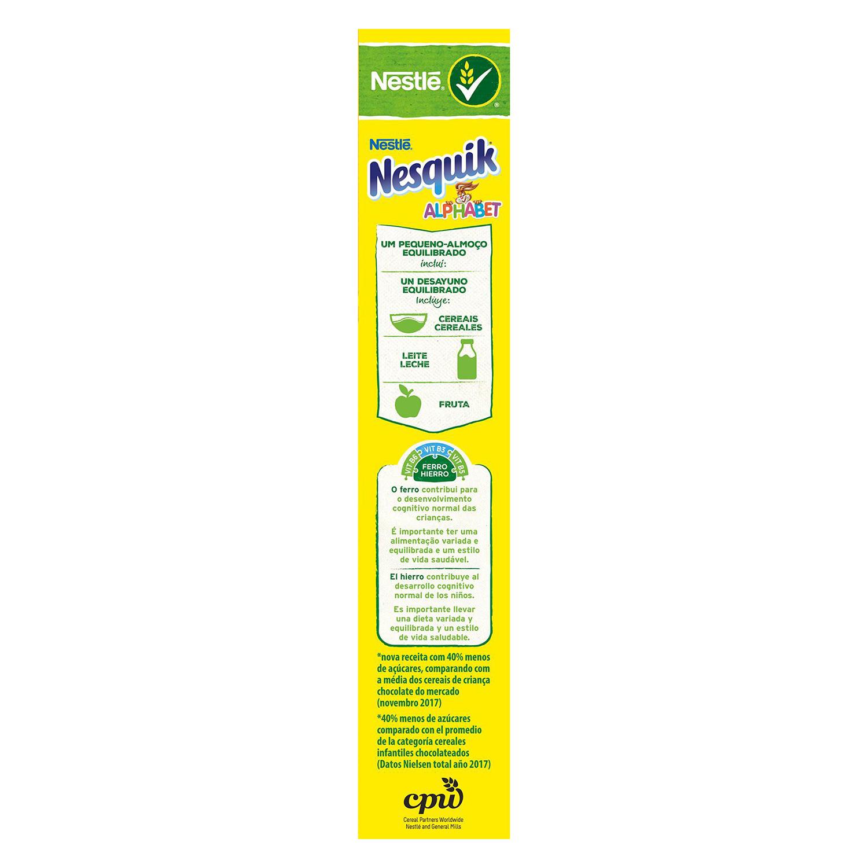 Cereales integrales ABC Nesquik Nestlé 325 g. - 2