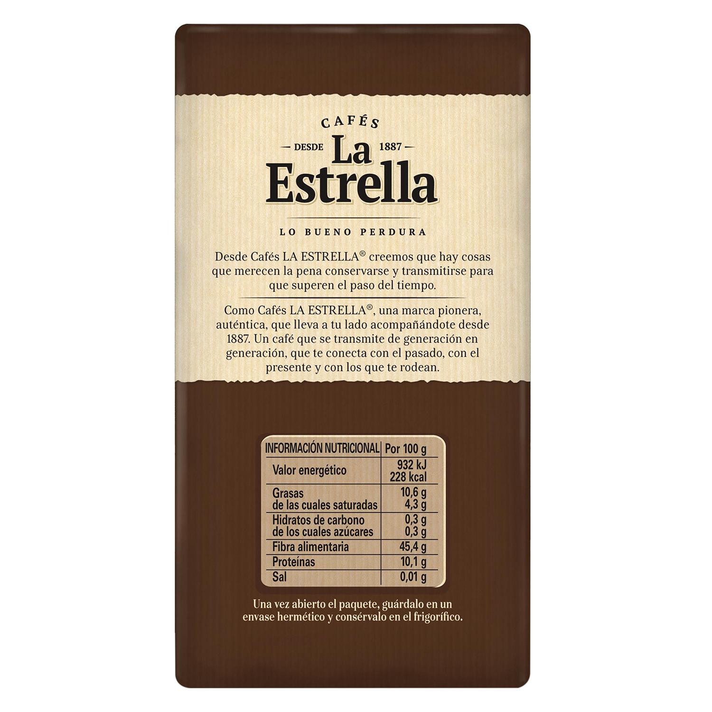 Café molido mezcla -