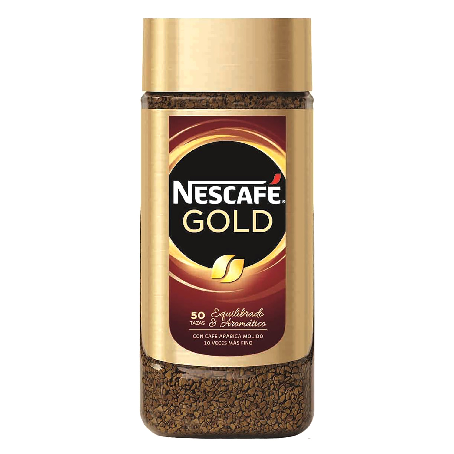 Café soluble natural Gold Nescafé 100 g.